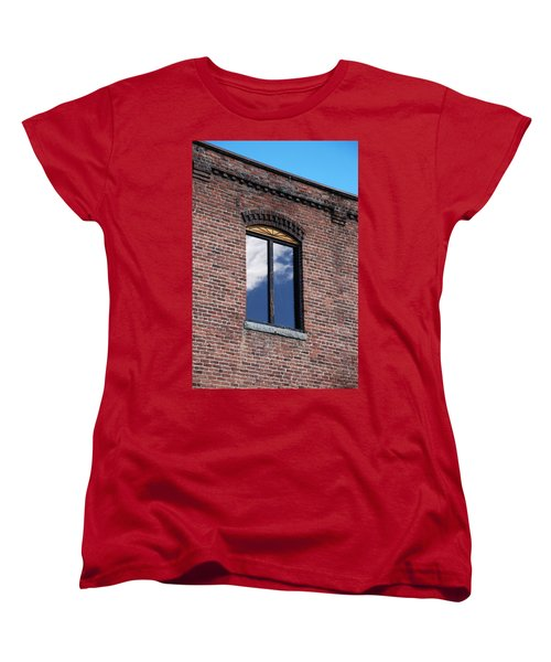 Women's T-Shirt (Standard Cut) featuring the photograph Building Series - Sky Views by Kathleen Grace