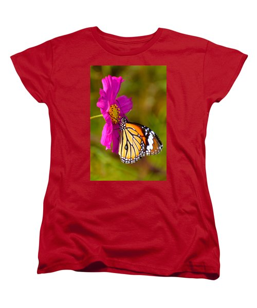 Butterfly II Women's T-Shirt (Standard Cut) by Fotosas Photography