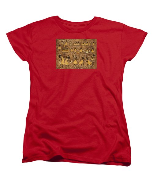 Celebration Women's T-Shirt (Standard Cut) by Katherine Young-Beck