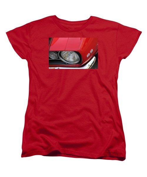 Women's T-Shirt (Standard Cut) featuring the photograph Chevy S S Emblem by Bill Owen