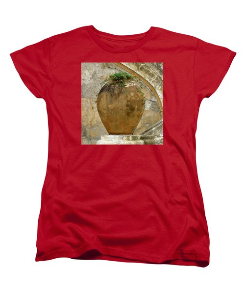 Women's T-Shirt (Standard Cut) featuring the photograph Clay Pot by Lainie Wrightson