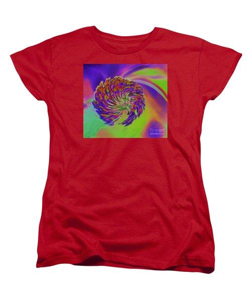 Color Splash Women's T-Shirt (Standard Cut) by Cindy Manero