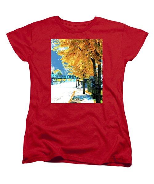 Cooper Street Memphis Women's T-Shirt (Standard Cut) by Lizi Beard-Ward