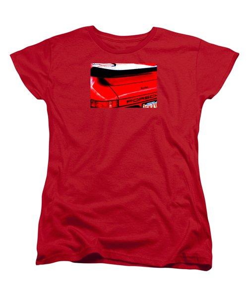 Women's T-Shirt (Standard Cut) featuring the photograph Dead Red Turbo by John Schneider