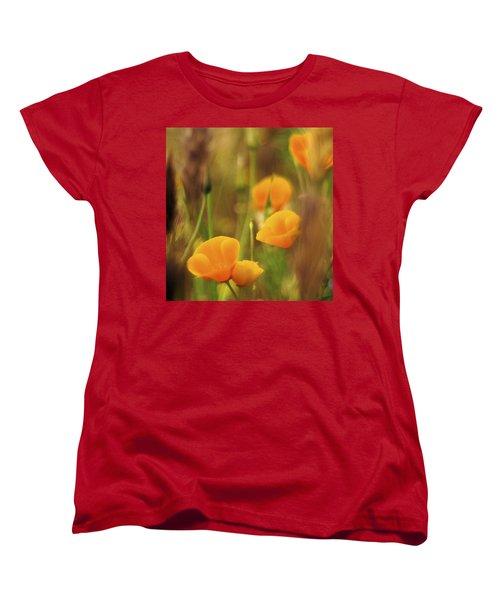 Dream Poppies Women's T-Shirt (Standard Cut) by Ralph Vazquez