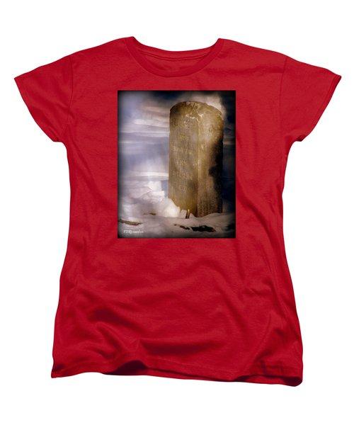Elisabeth  Women's T-Shirt (Standard Cut) by Priscilla Richardson