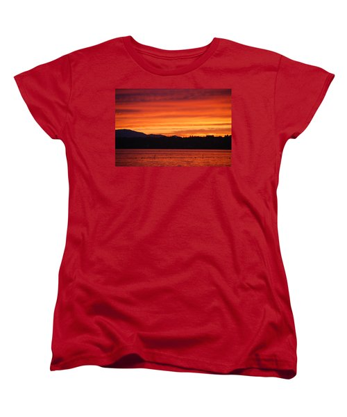 Fire Sky Women's T-Shirt (Standard Cut)