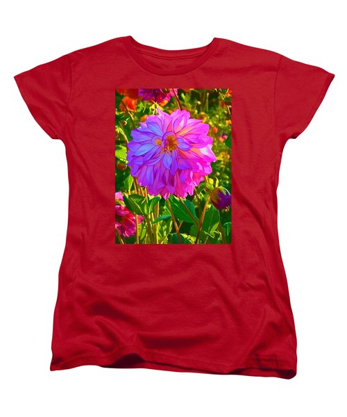 Fuchsia Delight Women's T-Shirt (Standard Cut)