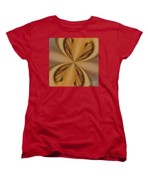 Golden Butterfly Women's T-Shirt (Standard Cut)