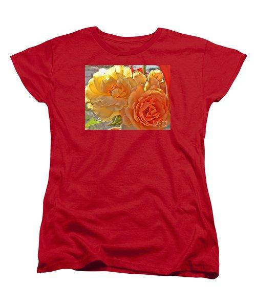 Women's T-Shirt (Standard Cut) featuring the photograph Golden Light by Debbie Portwood