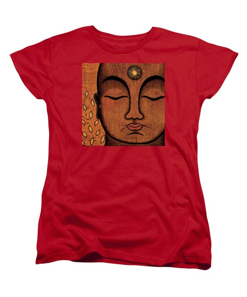 Women's T-Shirt (Standard Cut) featuring the painting He Knows by Gloria Rothrock