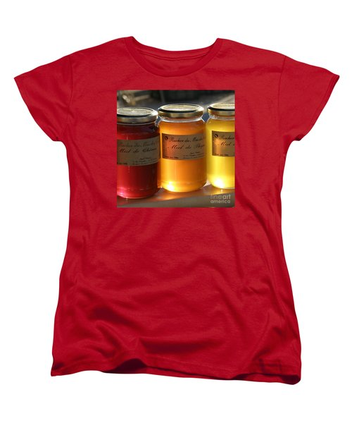 Women's T-Shirt (Standard Cut) featuring the photograph Honey by Lainie Wrightson