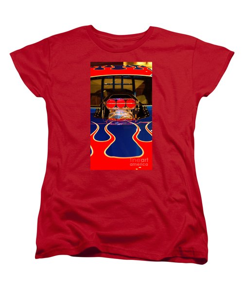 Hot Rod 1 Women's T-Shirt (Standard Cut) by Micah May