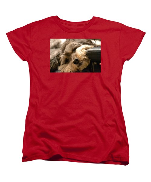 It's Been A Long Day Women's T-Shirt (Standard Cut) by Bonnie Myszka