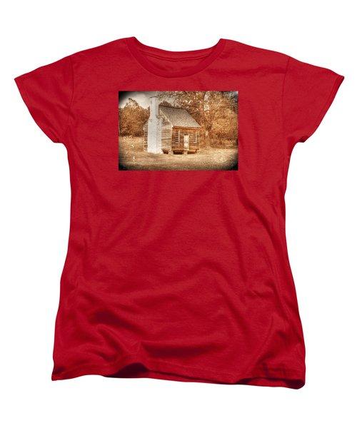 Joel Sweeney Cabin Women's T-Shirt (Standard Cut) by Dan Stone