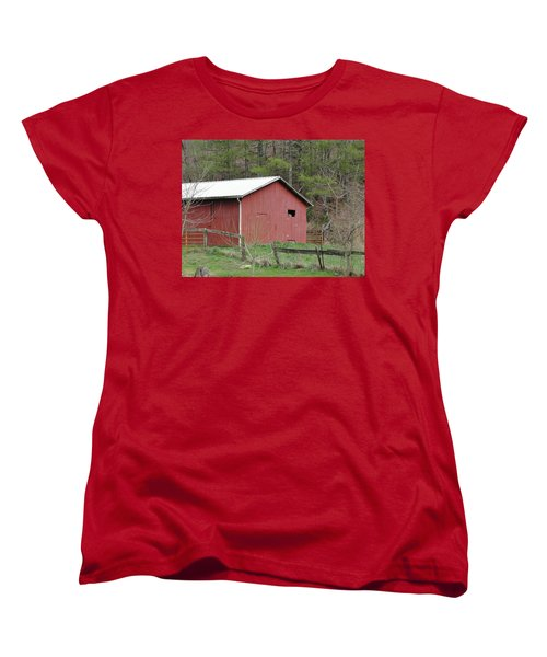 Women's T-Shirt (Standard Cut) featuring the photograph Kentucky Life by Tiffany Erdman