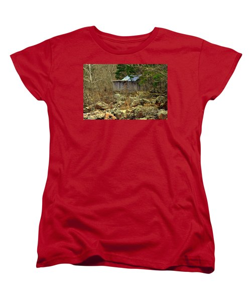 Women's T-Shirt (Standard Cut) featuring the photograph Klepzig Mill by Marty Koch