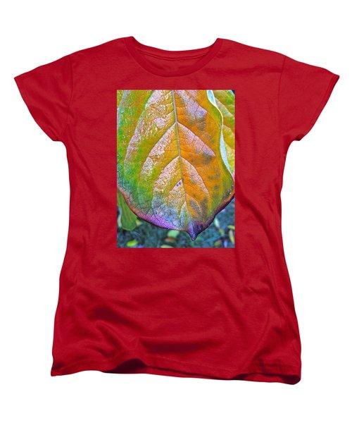 Women's T-Shirt (Standard Cut) featuring the photograph Leaf by Bill Owen