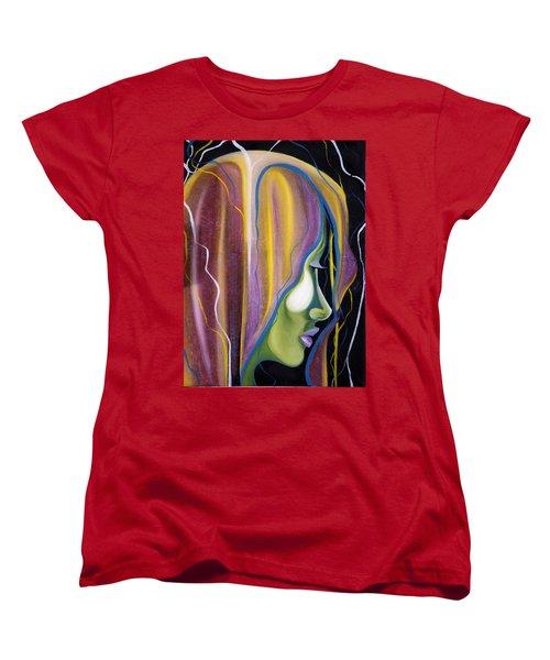 Lights II Women's T-Shirt (Standard Cut) by Sheridan Furrer