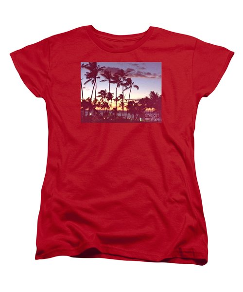Women's T-Shirt (Standard Cut) featuring the photograph Mahalo For This Day by Beth Saffer