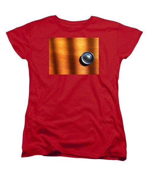 Women's T-Shirt (Standard Cut) featuring the photograph Morning Shadows by Bill Owen