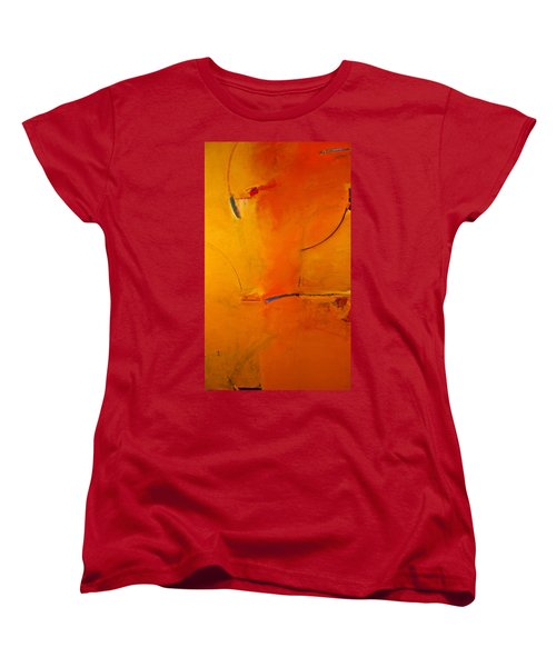 Women's T-Shirt (Standard Cut) featuring the painting Most Like Lee by Cliff Spohn