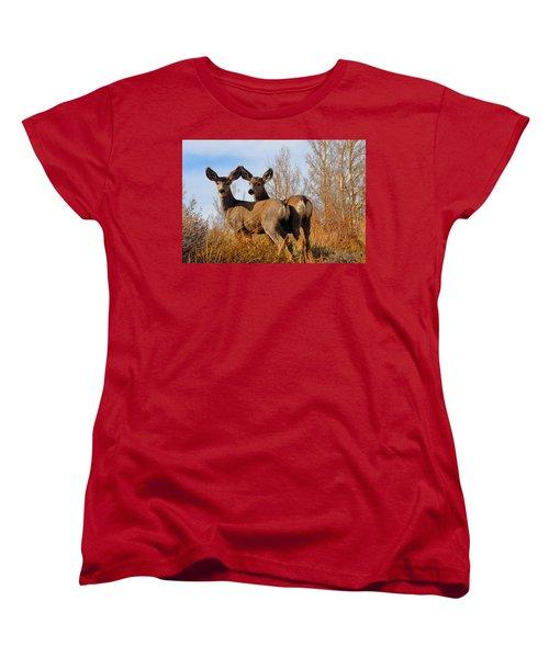Women's T-Shirt (Standard Cut) featuring the photograph Nature's Gentle Beauties by Lynn Bauer