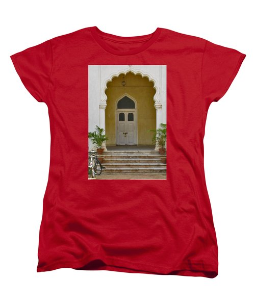 Women's T-Shirt (Standard Cut) featuring the photograph Palace Door by David Pantuso