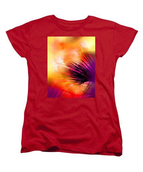 Palmetto Women's T-Shirt (Standard Cut) by Judi Bagwell