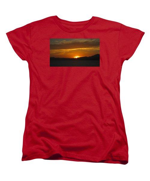 Women's T-Shirt (Standard Cut) featuring the photograph Puerto Vallarta Sunset by Marilyn Wilson