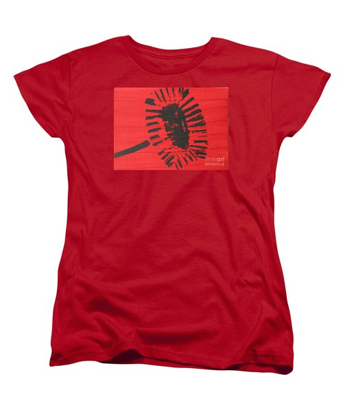 Red Women's T-Shirt (Standard Cut)