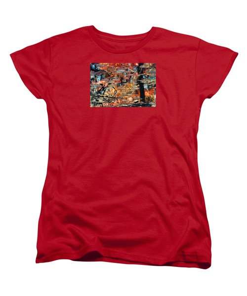 Reflection Women's T-Shirt (Standard Cut) by Barbara Middleton