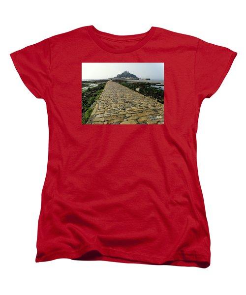 Women's T-Shirt (Standard Cut) featuring the photograph Saint Michael's Mount by Lainie Wrightson