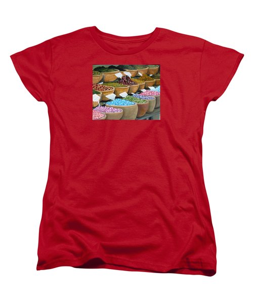Scents For The Senses Women's T-Shirt (Standard Cut) by Laurie Morgan