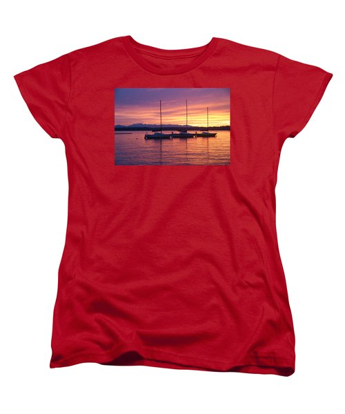 Serene Sunset Women's T-Shirt (Standard Cut)