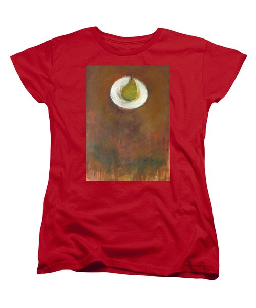 Women's T-Shirt (Standard Cut) featuring the painting Solo by Kathleen Grace