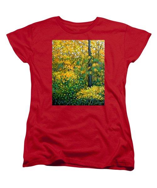 Southern Woods Women's T-Shirt (Standard Cut) by Jeanette Jarmon