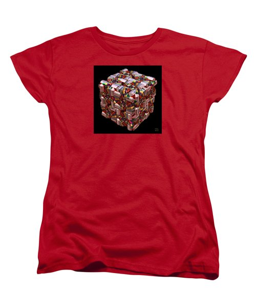 Spiral Box I Women's T-Shirt (Standard Cut) by Manny Lorenzo
