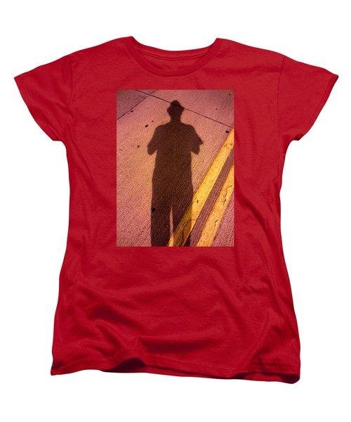 Street Shadows 001 Women's T-Shirt (Standard Cut) by Lon Casler Bixby