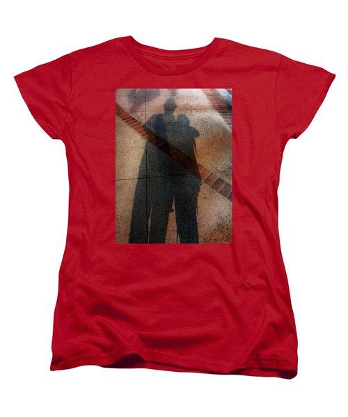 Street Shadows 002 Women's T-Shirt (Standard Cut) by Lon Casler Bixby