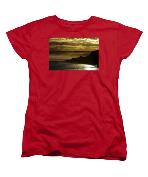 Sunset Mist Women's T-Shirt (Standard Cut) by Blair Stuart