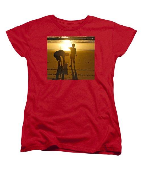 Women's T-Shirt (Standard Cut) featuring the photograph Teach A Man To Fish... by Eric Tressler