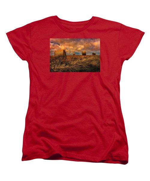 The Hayfield Women's T-Shirt (Standard Cut) by Chris Lord