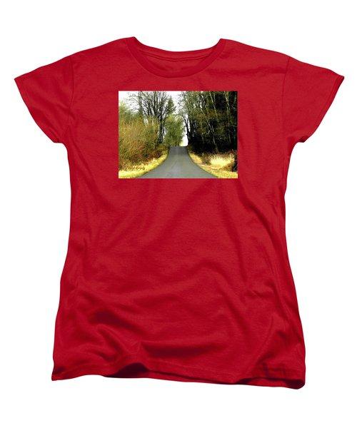 The High Road Women's T-Shirt (Standard Cut) by Sadie Reneau