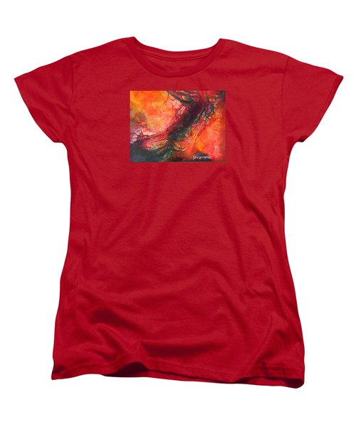 The Singer Women's T-Shirt (Standard Cut) by Dan Whittemore