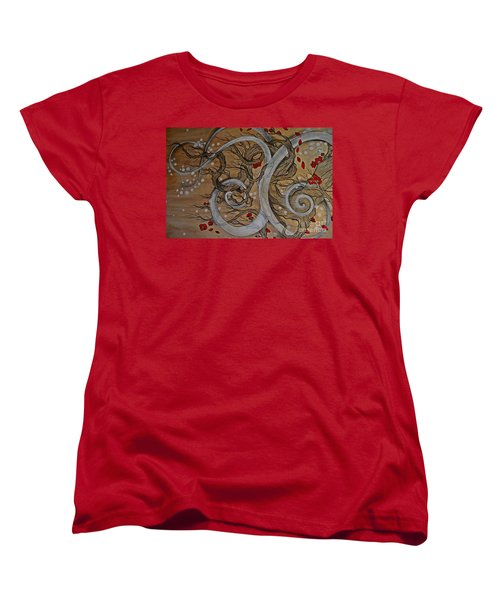Women's T-Shirt (Standard Cut) featuring the painting Today Forever by Sandro Ramani