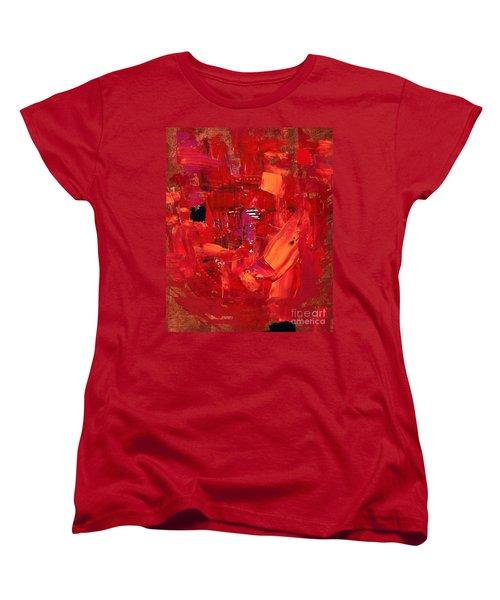 Turmoil In Tahrir Square Cairo Women's T-Shirt (Standard Cut)
