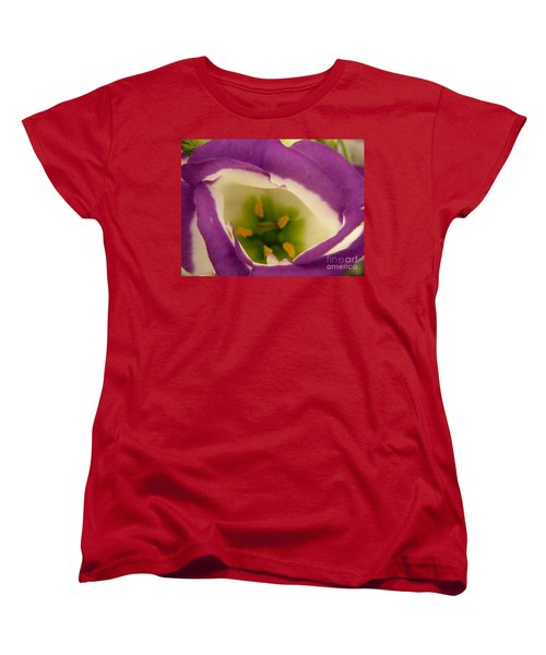 Women's T-Shirt (Standard Cut) featuring the photograph Vibrant by Lainie Wrightson