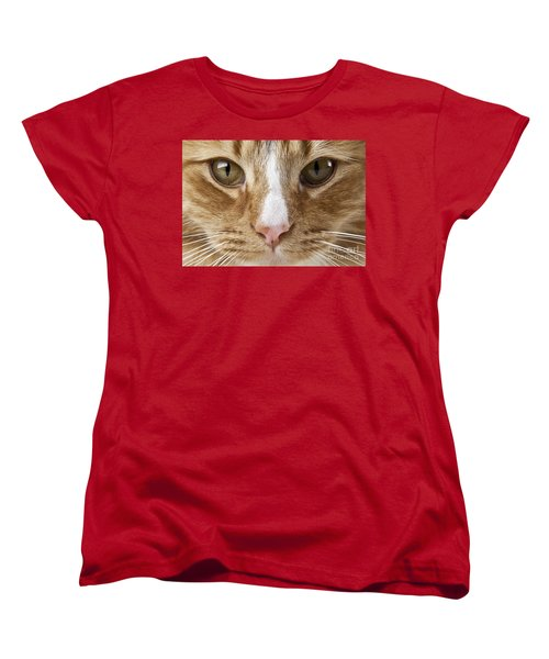 Women's T-Shirt (Standard Cut) featuring the photograph Watching And Waiting by Jeannette Hunt