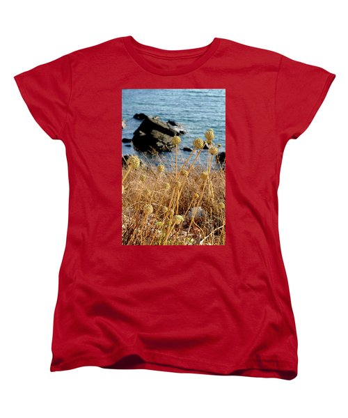 Women's T-Shirt (Standard Cut) featuring the photograph Watching The Sea 2 by Pedro Cardona